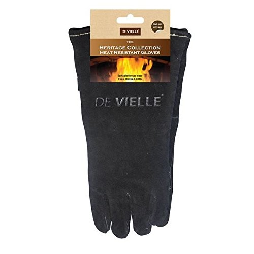 De Vielle Heritage Leather Stove Gloves