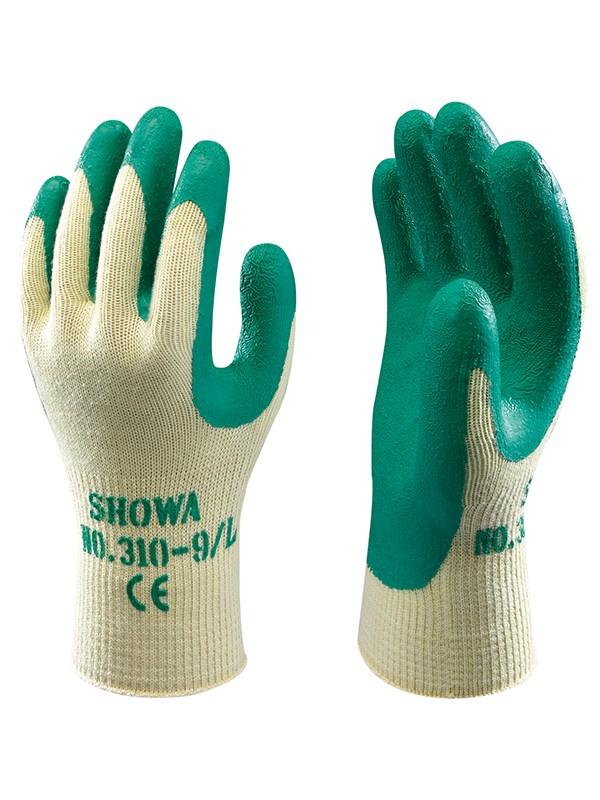 Showa 310 Green Grip Work Gardening Gloves