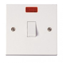 Click Polar 20A DP Switch With Neon (PRW023)