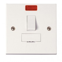 Click Polar 13A Switched Fused Connection Unit With Neon (PRW052)