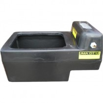 12 Gallon Plastic Cattle Water Trough