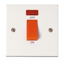 Click Polar 45A 1 Gang DP Switch With Neon (PRW201)