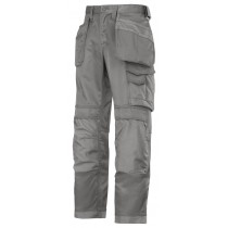 Snickers 3214 Craftsmen Holster Pocket Trousers, Canvas+, Grey