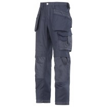 Snickers 3214 Craftsmen Holster Pocket Trousers, Canvas+, Navy