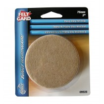 Felt Gard Heavy Duty Felt Pads -75mm 3""