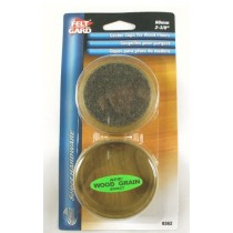 Felt Gard Caster Cups For Wood Floors 60mm 2-3/8""