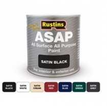 Rustins Quick Dry ASAP All Surface All Purpose Paint (250ml)