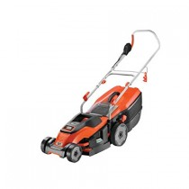 Black and Decker 1600W 38cm Electric Lawn Mower with Compact and Go