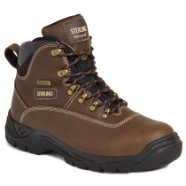 Sterling Waterproof Safety Hiker Boot SS813 Tan