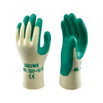 Showa 310 Green Grip Work Gardening Gloves