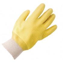 KeepSAFE Latex Grizzle Knit Wrist Gloves