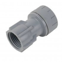 Polyplumb Hand Tighten Tap Connector 22mm x 1/2""