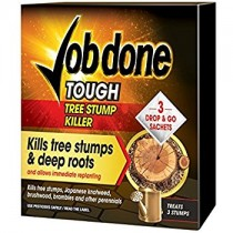 Job Done Tree Stump Killer - 3 Sachet