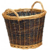 Manor Duo Tone - 50 with Liner Log Basket