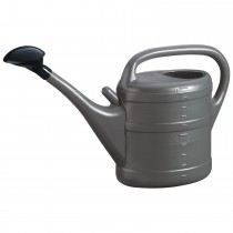 Lourdes Plastic 10 Litre Watering Can - Grey