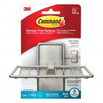 Command Satin Nickel Soap Dish