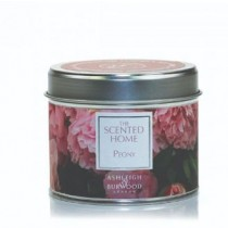 Ashleigh & Burwood Scented Home Peony Tin Candle 165g