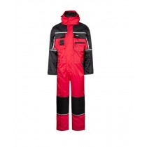 Lyngsøe Rainwear Winter Coverall - Red/Black
