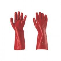 KeepSAFE PVC Red Gauntlets