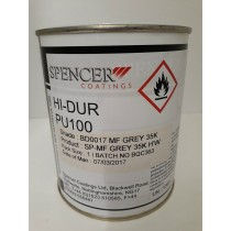 Spencer Coatings MF Grey PU100 Finish 1Litre