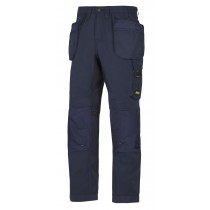 Snickers 6201 All round work trousers Navy