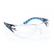 Riley Stream Blue Safety Glasses