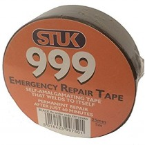 Stuk Black 999 Emergency Repair Tape (25mm x 5mm)